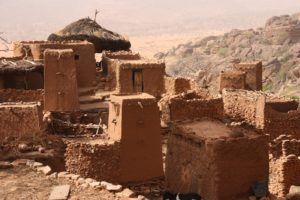 Maisons au Mali