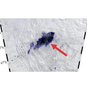 trou noir en Antarctique