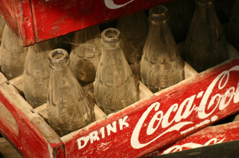 Caisse de Coca cola