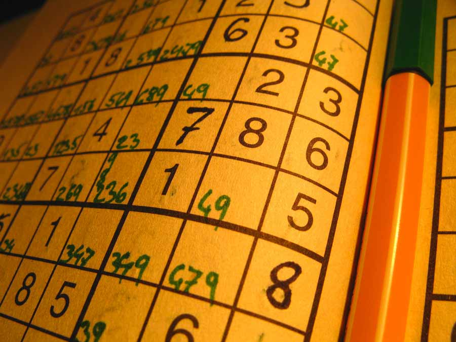 Sudoku versus mots croisés